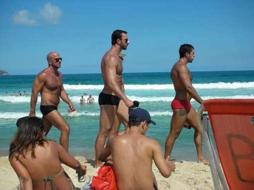 Praia Mole gay beach in Florianopolis
