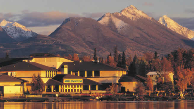 Juneau that Millennium Hotels has a property in Anchorage?