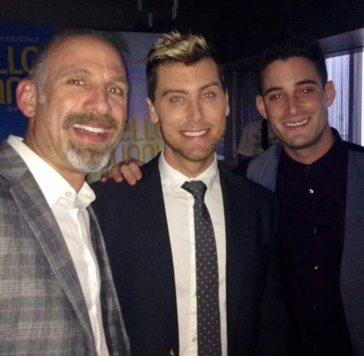 Lance Bass and Michael Turchin at #loveislove in Ft. Lauderdale