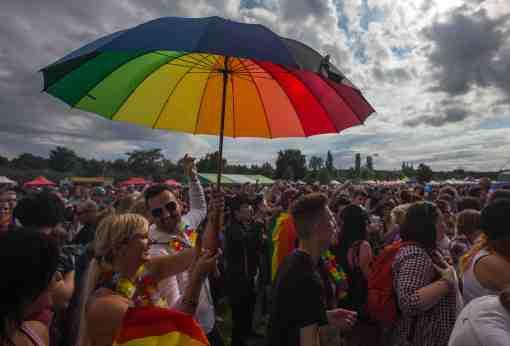 Praha, 16. 8. 2014, Prague Pride, sexualita, lesbička, lesba, homosexuál, homosexualita, pochod, gay, LGBT Foto: HN - Lukáš Bíba
