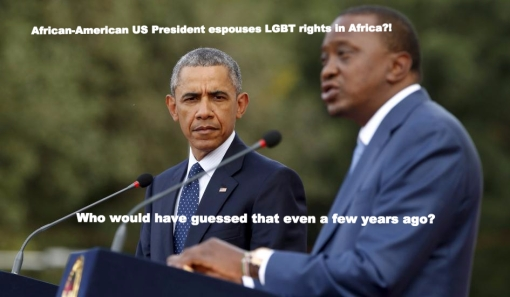 The president in Africa and being gay in Ethiopia, in ManAboutWorld gay travel magazine