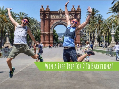 MyGayPride promotion in Barcelona and in ManAboutWorld gay travel magazine