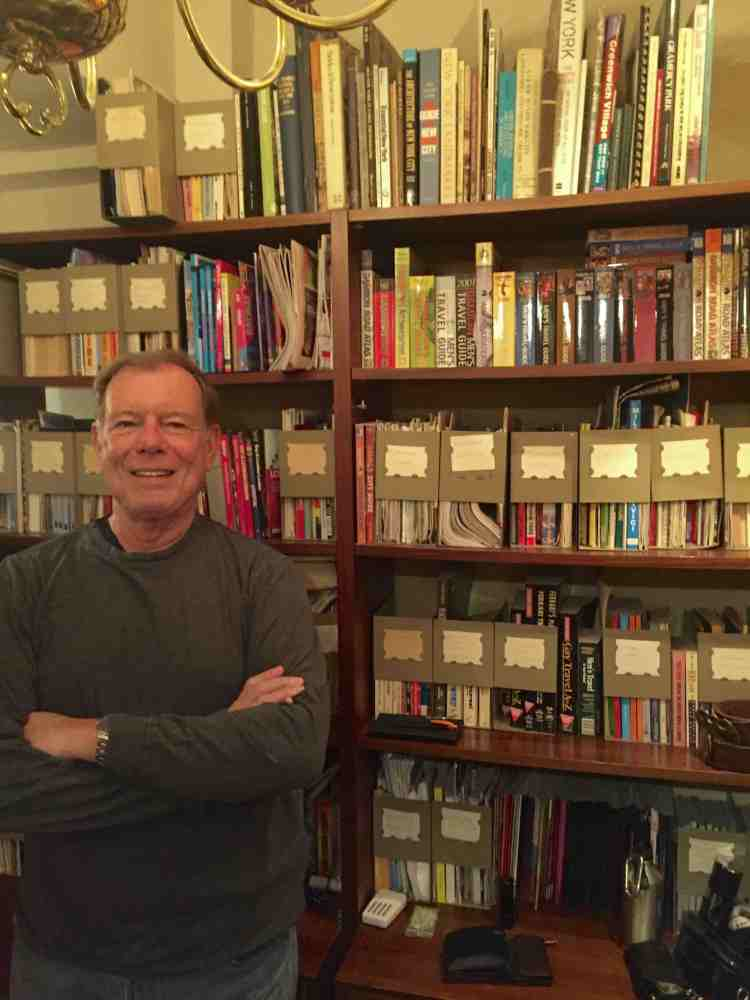 David Jarrett, collector of gay travel guides