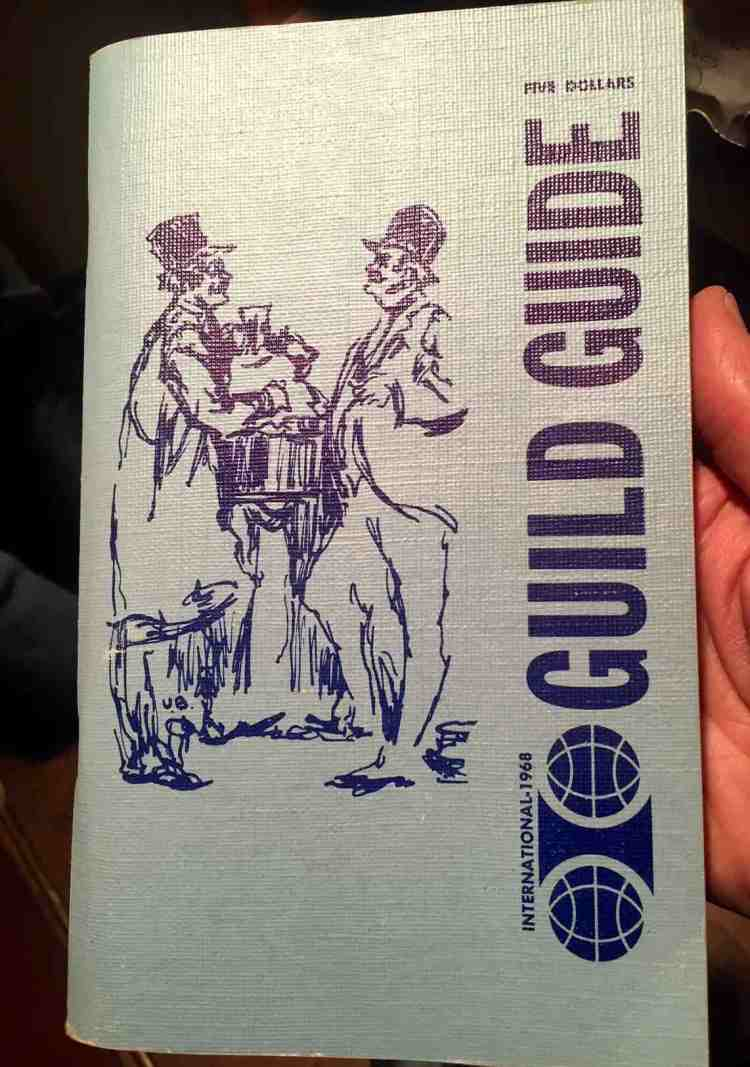 Guild Guide from 1968