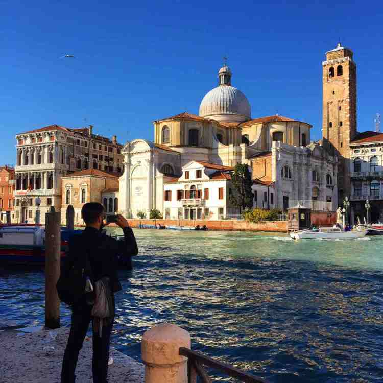 View of the Chiesa di San Geremia from the Grand Canal, Venice