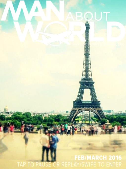 Paris in ManAboutWorld gay travel magazine