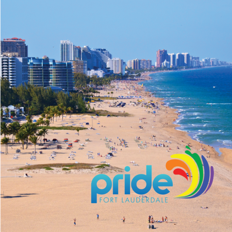 Ft. Lauderdale pride 2017 will be on the beach this year. Check it out via ManAboutWorld gay travel magazine